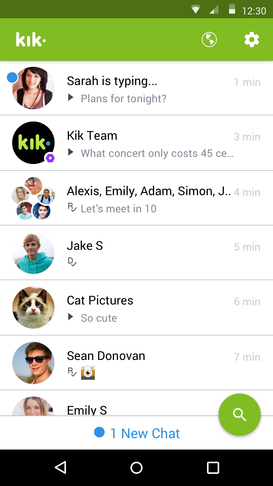 What happened to kik chat now