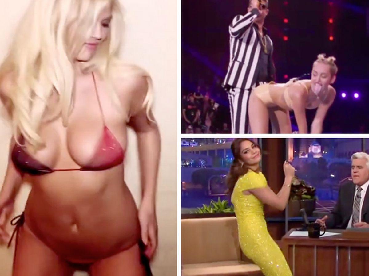 Left right best celebrity twerk videos of all time