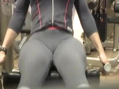 Candid cameltoe spandex porn video tube