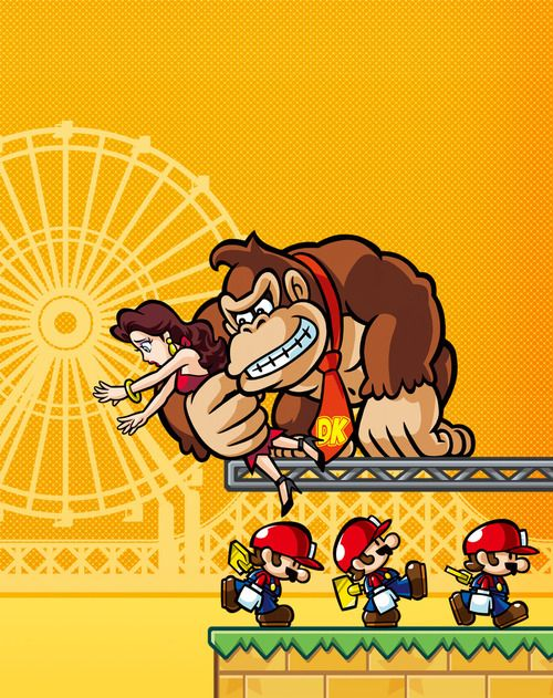 Game parody mario kart humor gráfico