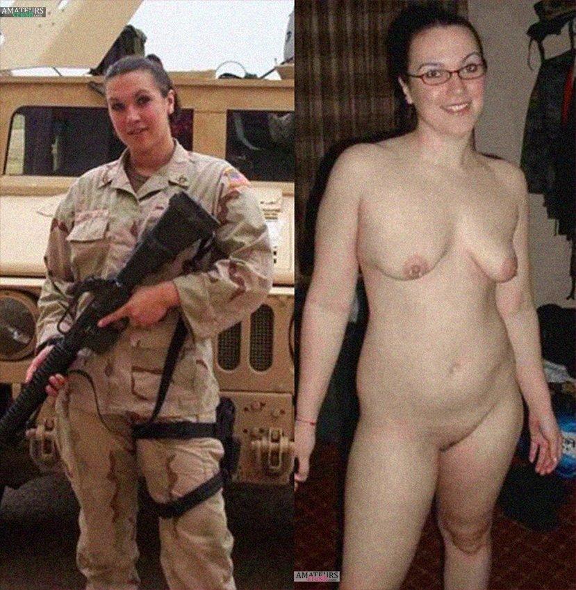 Nude military females pics