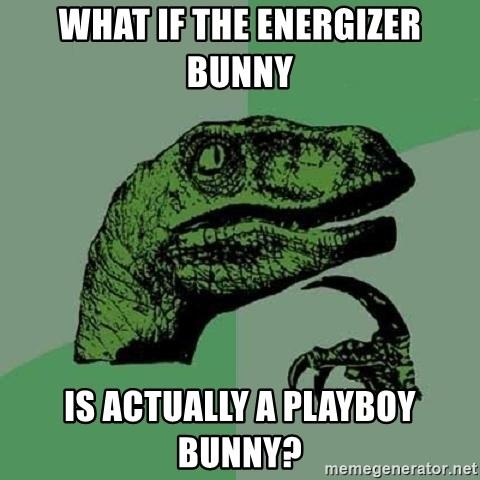 The energizer playboy bunny