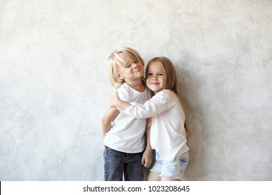 Family brother share his bed with sister