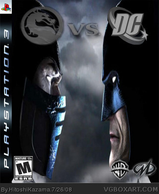 Mortal kombat universe playstation box art cover