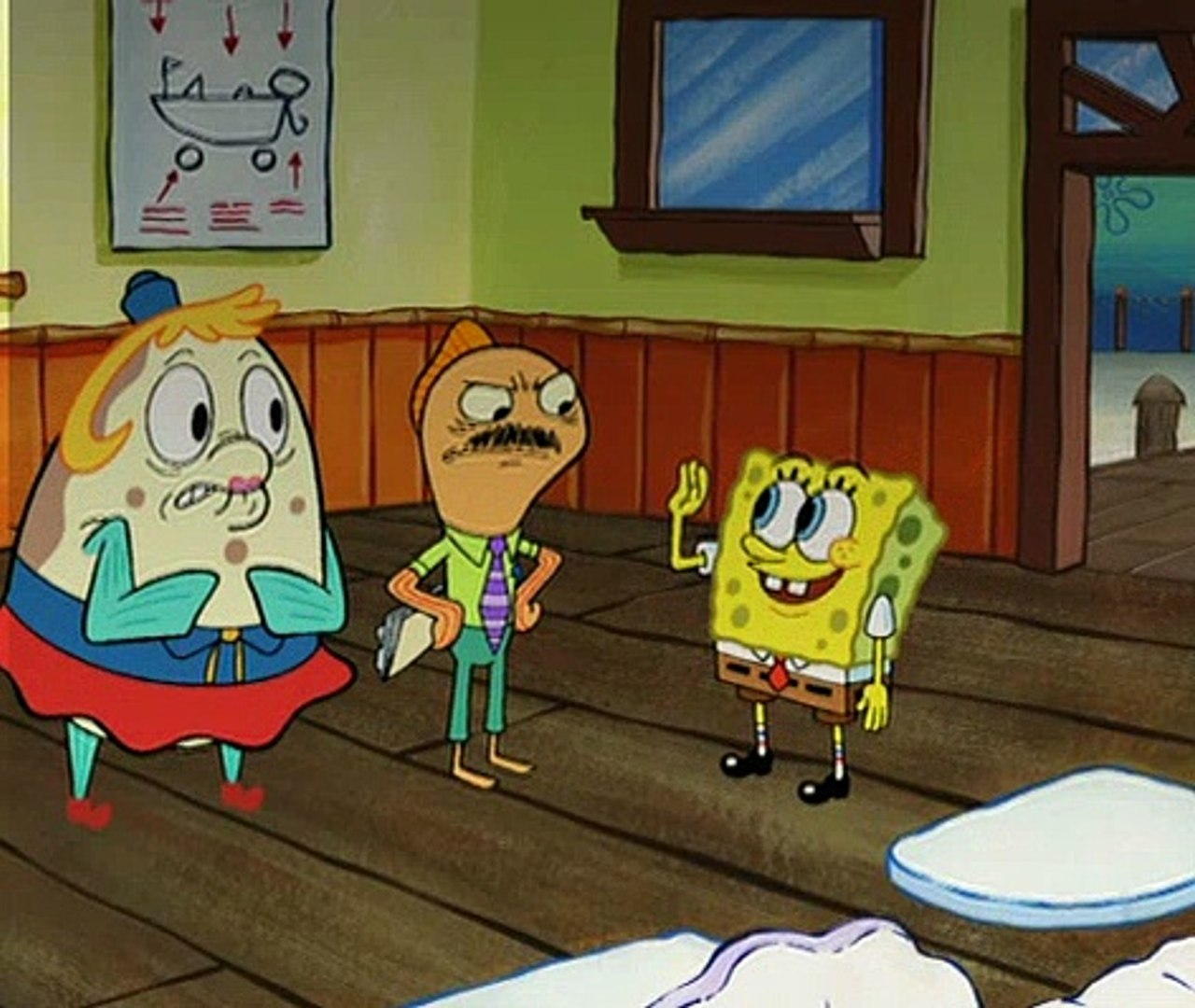 Pictures of mrs puff from spongebob