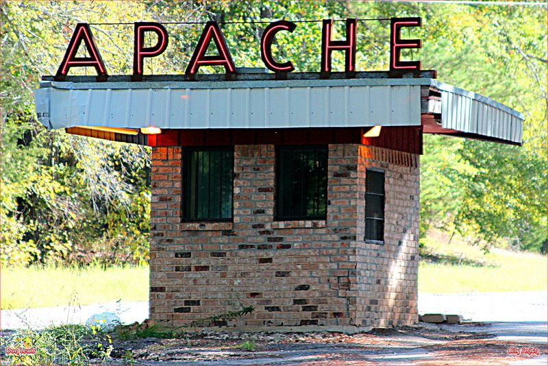 Apache drive in theater