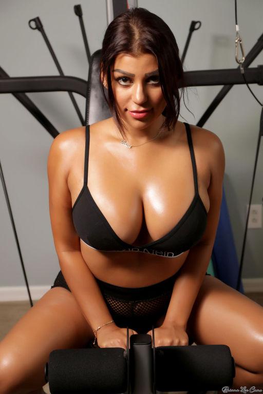 Big as and big tits