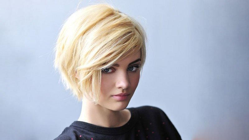 Pictures of short layered bobs