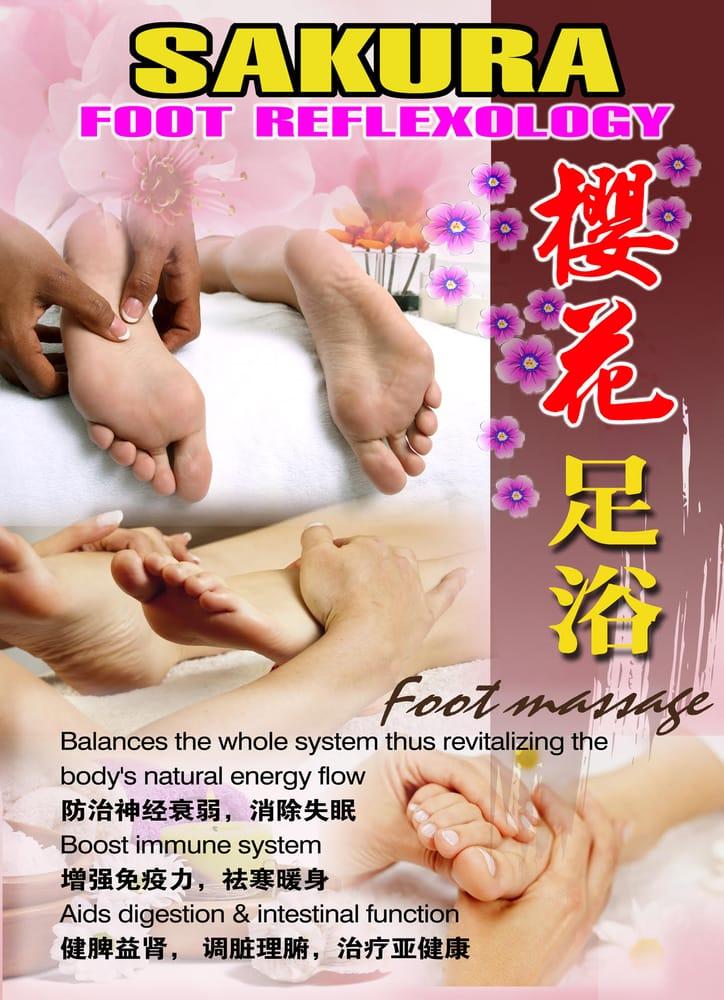 Yang sheng foot massage