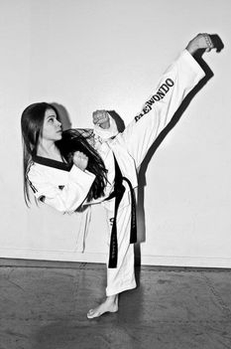 Martial arts for pretty girls