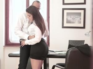 Perfect black tits and big tits porn