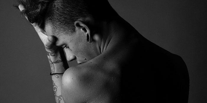 Accidental orgasm during massage