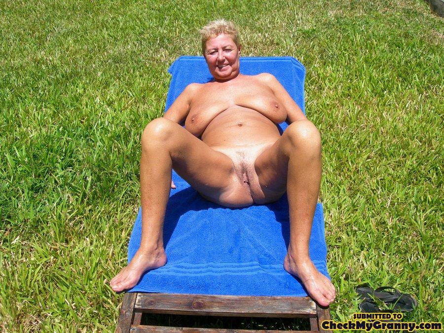 Old aged granny fuck nude i beach
