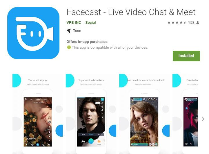 Teen live video chat