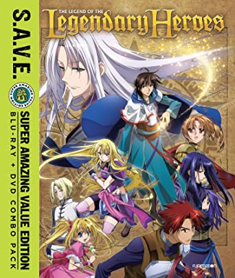 Legend of the legendary heroes on buy new blu