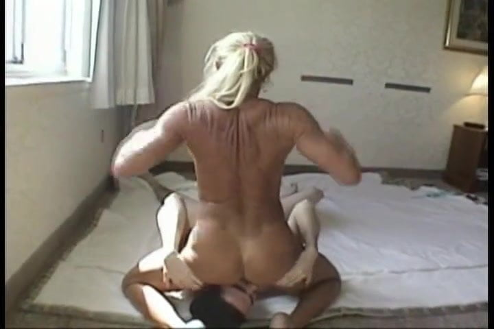 She takes a huge cock