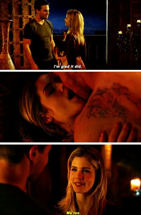 Arrow the fallen oliver felicity olicity sex