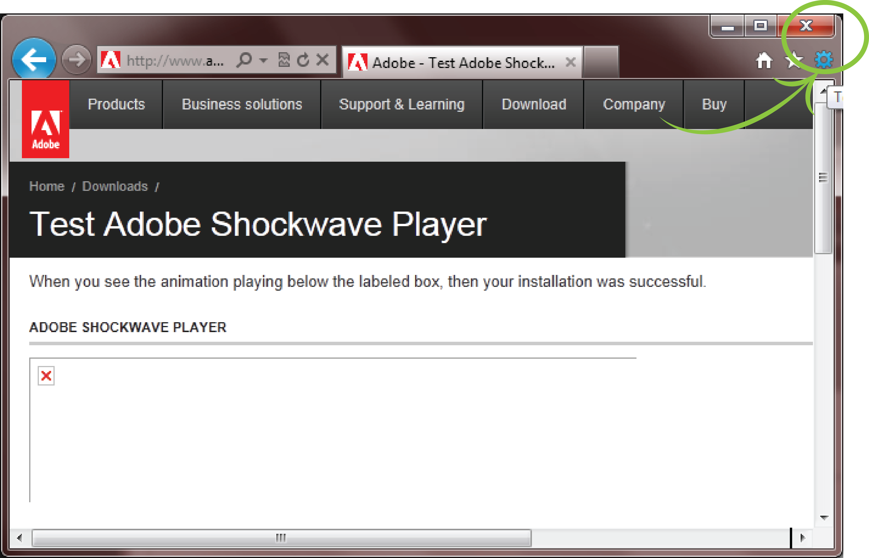 Enable adobe shockwave in chrome