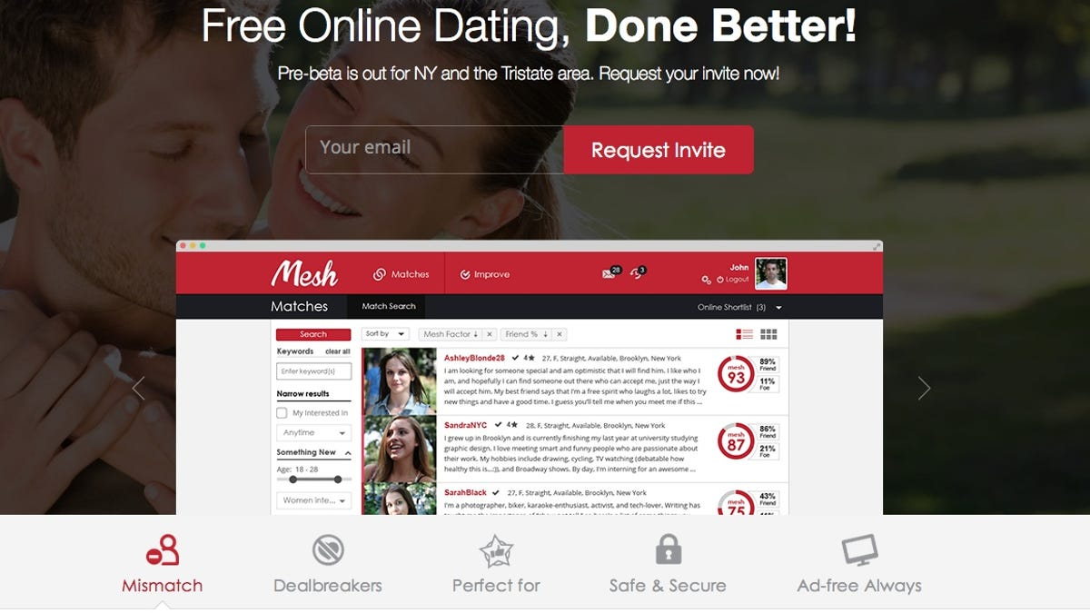 Meet someone online for free