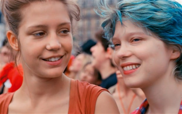 Blue is the warmest colour nude
