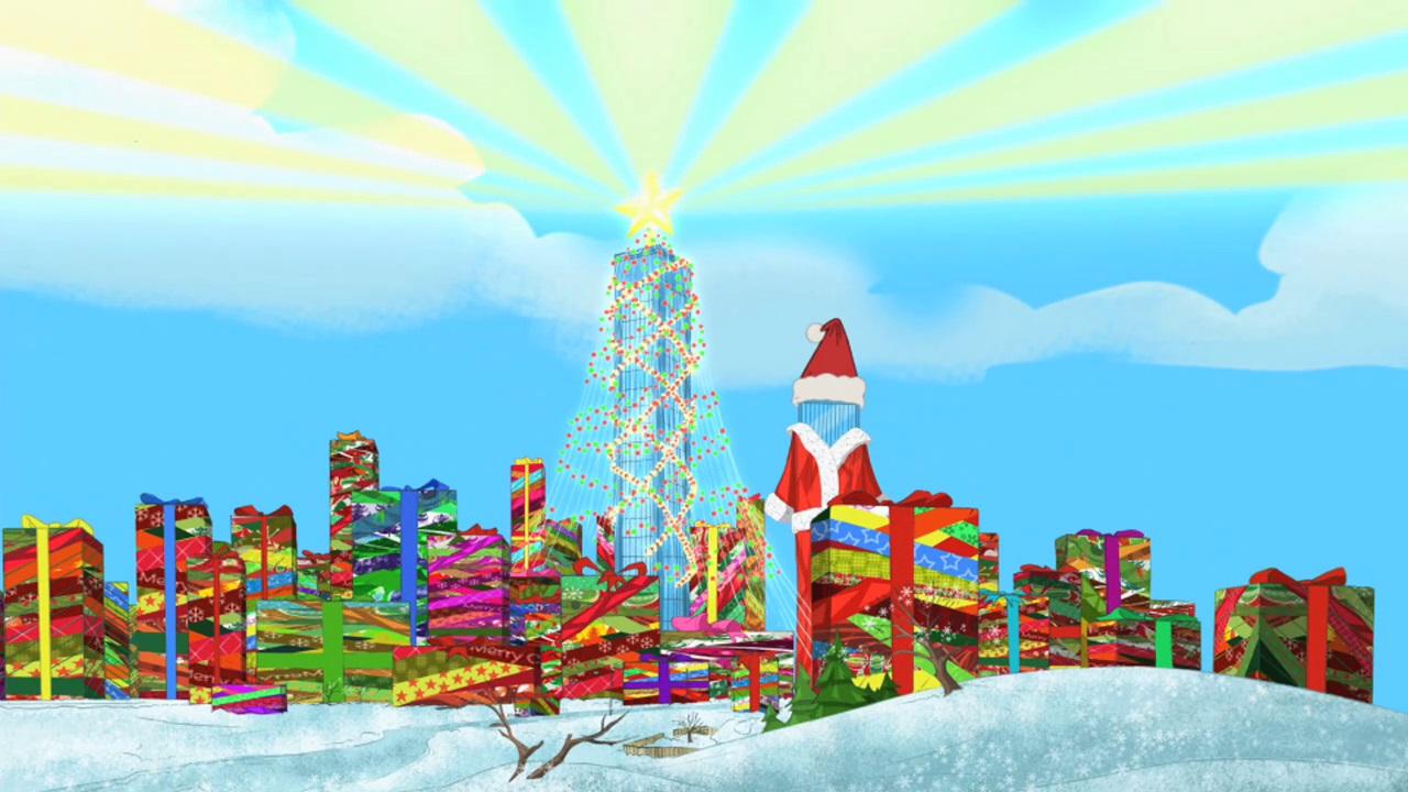 This isn christmas vacation at universe