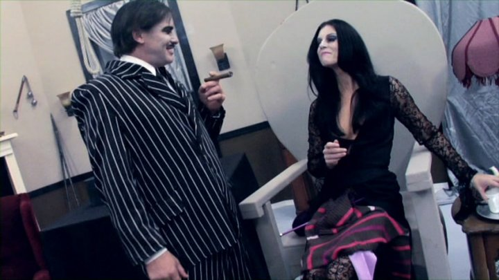 Charley chase alison tyler the addams family parody