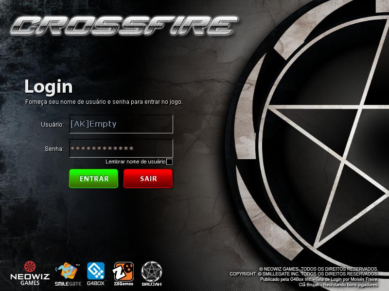 Como baixar e instalar telas de login para crossfire