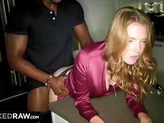Wild hardcore reluctant housewife interracial