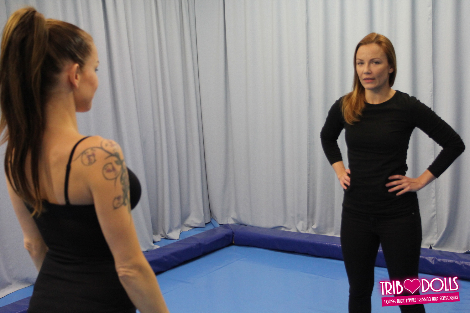 Gianna michaels in a candid scene
