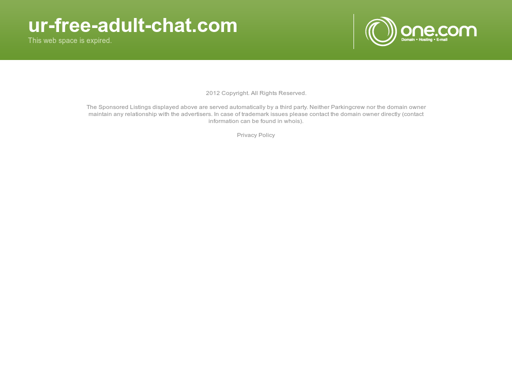 Free one on one adult chat