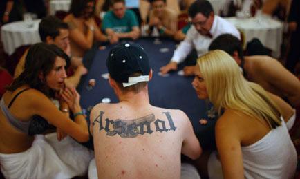 Girls losing at strip poker