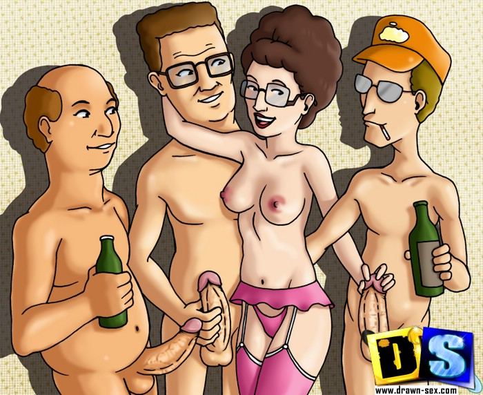 King of the hill fucking sex