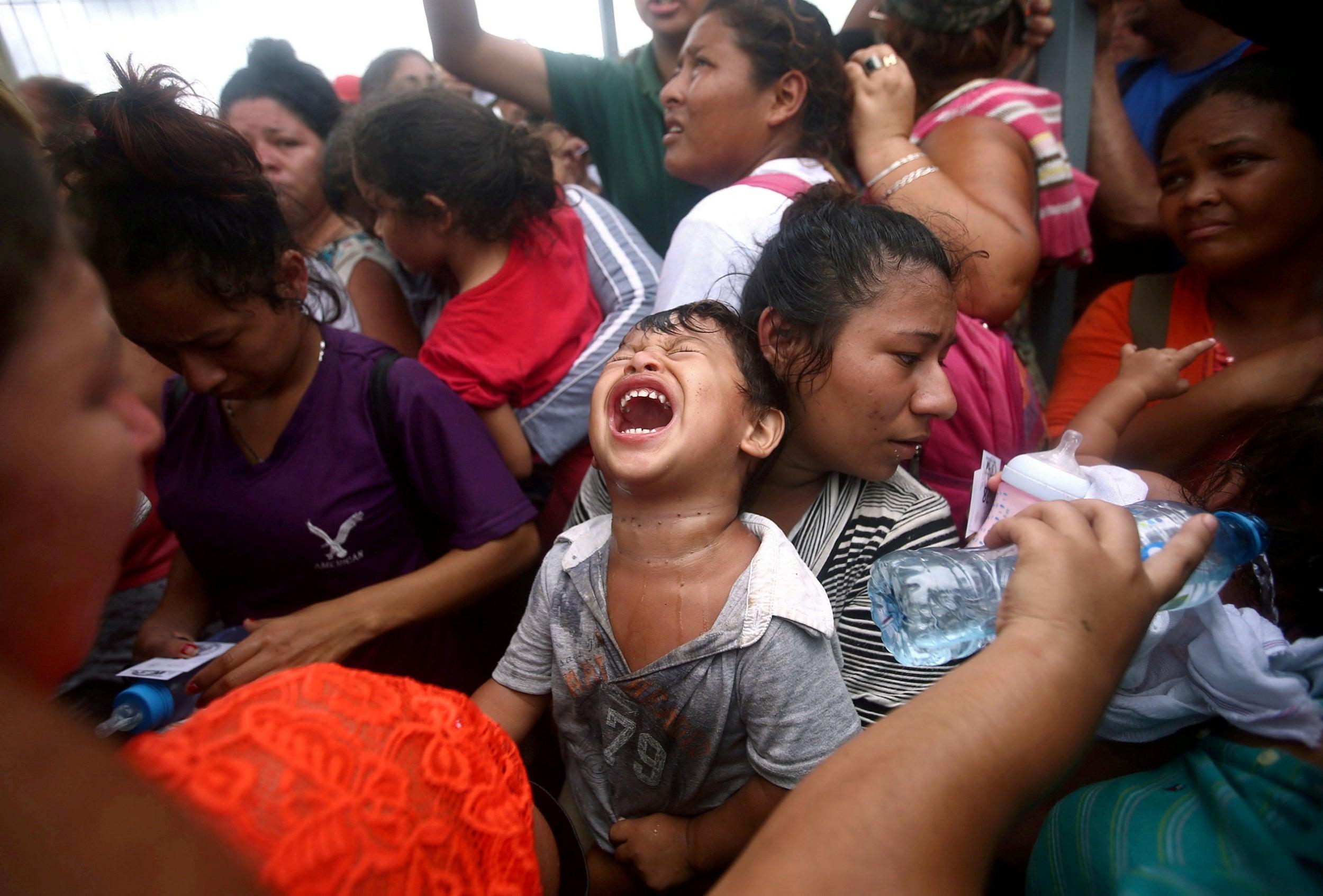Latina punished at the border