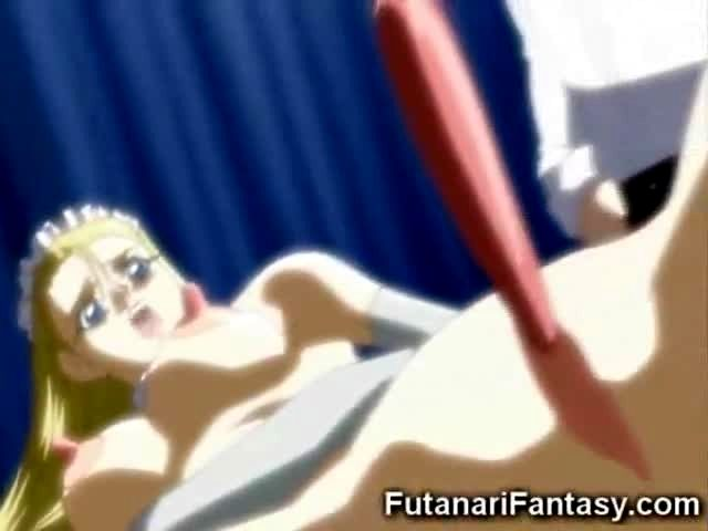 Weird hentai futanari sex